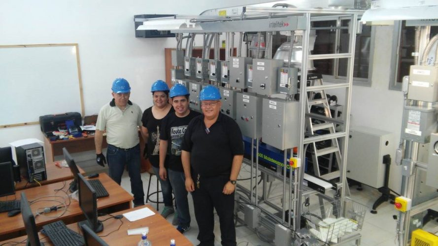 SNPP San Lorenzo Intelitek Maintenance Cell